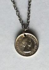 Canadian Coin Coronation Year 1953 Queen Elizabeth II Pendant British Royalty