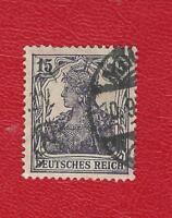DEUTSCHES REICH (492) MI NR 142 a GESTEMPELT (NEU GEPRÜFT) INFLA Weinbach