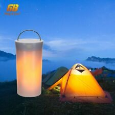 LED Night Lamp USB Flame Effect Magnetic Gravity Sensor Camping Outdoor Light