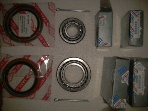 MAZDA RX2 RX3 RX4 CAPELLA 808 1300,BUDGET,FRONT WHEEL BEARINGS,TWO WHEEL KIT