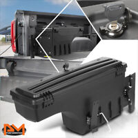 For 05-19 Toyota Tacoma Driver Side Truck Bed Wheel Well Storage Box w/Lock&Key