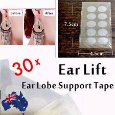 30x Earring Hole Lobe Lift Patch Sticker Support Stops Ear Tearing Pain Ache