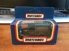 Matchbox MB-38 Ford Model A  - Greens Sponge Mixture - Brighton - Boxed