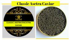 30-250 gr Classic Asetra/Oscietra caviar. FREE Xpress del.