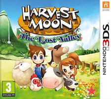 Nintendo 3ds Harvest Moon The Lost Valley (nintendo VideoGames