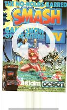 (-0-) ARCADE GAME RARE Advert OCEAN SMASH TV POSTER AMIGA ATARI