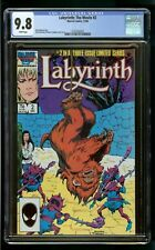 LABYRINTH #2 (1986) CGC 9.8 MOVIE ADAPTATION 1st PRINT WHITE PAGES