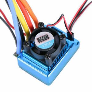 120A Sensored Brushless  Drehzahlregler Speed Controller Regler ESC für 1/8 1/10