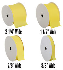 "Grosgrain Ribbon 3/8"",7/8"",1 1/2"",2 1/4"" widths 10 yd rolls 25 colors Free Ship"