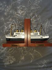 Titanic Book Ends Bookends