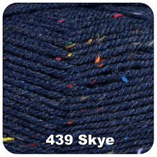 King Cole Fashion Aran 100g Wool & Acrylic Blend Knitting Yarn - Quick Dispatch