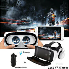 3D VR Virtual Reality Glasses + Remote Control For Smartphone VR Headsets iPhone