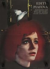 PIAF THE EARLY YEARS Czech A3 movie poster EDITH PIAF 1974 Superb Art