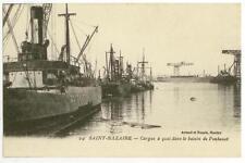 "c1907 Saint Nazaire France steam cargo ship ""Quickstep"" ""Hard Castle"""