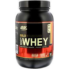 Optimum Nutrition  Gold Standard  100  Whey  Strawberry Banana  2 lbs  907 g