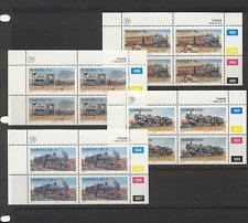 Namibia 1994 Steam/TRAINS/Rail 4v control blks (n16411)