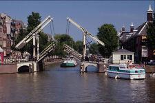 579072 Walter Suskind Bridge Amsterdam Netherlands A4 Photo Print