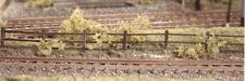 Ratio 217 Lineside Fencing 4 x 113mm Brown 'N' Gauge Plastic Kit