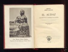 AGUILAR - Benito Perez Galdos - El Audaz - 1952 - 1º Ed Crisol 347
