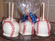 BASEBALL CANDY CARAMEL CHOCOLATE APPLE/APPLES,FAVORS
