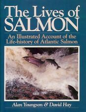 YOUNGSON ALAN FLYFISHING BOOK LIVES OF SALMON LIFE CONSERVATION hardback BARGAIN