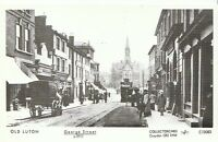 Bedfordshire Postcard - Old Luton - George Street c1911  2202