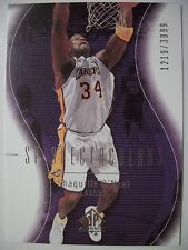 2003-04 SP AUTHENTIC SHAQUILLE O'NEAL # 117 LAKERS !!!  BOX  # 33