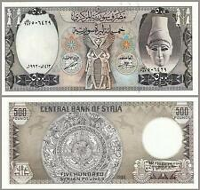 SYRIA 500 POUNDS 1992 UNCIRCULATED P.105 LARGE SIZE
