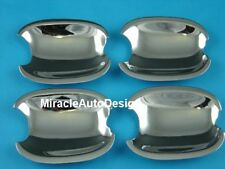 4 Chrome Stainless Steel Door Handle Cover Shells For 1999-2005 BMW E46 3-Series