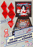 LADY LUCK By BALLY WULFF ORIGINAL RARE GERMAN PINBALL MACHINE PROMO SALES FLYER