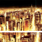 """40W""""x30H"""" MANHATTAN PANORAMIC NOCTURNE by FARRELL CANVAS"""