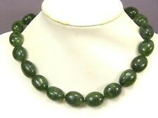 Necklace Canada Jade 20mm Nuggets 925 LL01