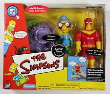 Playmates The Simpsons Interactive LUNAR BASE RADIOACTIVE MAN FALLOUT BOY New