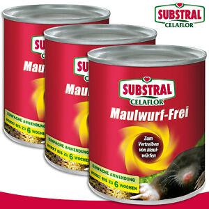 Substral Celaflor 2x 50 Piece 1,5 G Mole-Free Vergrämer Garden Beet Protection
