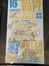 2 Hatch Show Print Posters City Of Hope Country Music - Autographed - Rare