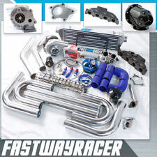 Golf Jetta Beetle A4 TT 1.8T DOHC T04E T3 T3/T4 Turbo Kit Cast Turbo Manifold