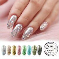 Nail Art Glitter Powder Dust UV Gel Acrylic Powder Sequins Christmas Nails Decor