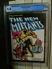 Marvel Graphic Novel #4, CGC 9.8, NM/M, White Pgs, First Appearance New Mutants