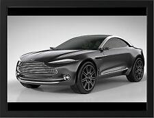 ASTON MARTIN DBX CONCEPT NEW A3 FRAMED PHOTOGRAPHIC PRINT POSTER