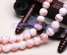 Flower Round Lampwork Glass Crystal Loose Spacer European Beads 12,14, 16,20mm