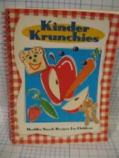 KINDER CHRUNCHIES HEALTHY SNACK RECIPES FOR KIDS/CHILDREN-GRANOLA & MORE
