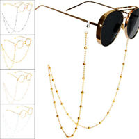 Women Eyeglass Chain Sunglasses Reading Beaded Glasses Chain Eyewear Rope 70cm