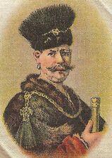 Vintage tobacco cigarette silk - use in crazy quilt - Rembrandt, Portrait Pole