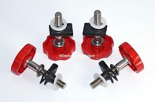 LocEzy-Victory Cross Roads/Country/Magnum/8 Ball Saddlebag Mounting/Knobs Red