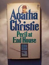 Peril At End House: Agatha Christie Pocket Book 1981 Mystery E-82