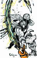 Beta Ray Bill #1 2x Exclusive Daniel Warren Johnson Thor 337 Homage Variant Set