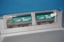 "RF40 Herpa 811343 Mercedes NG Roadtrain "" Glashüttenwerke Holzminden "" -ovp"