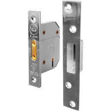 NEW Yale BS 5 Lever Mortice Deadlock 76mm Pol. Chrome Each