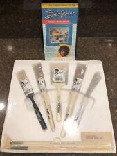 NEW BOB ROSS LANDSCAPE Brushes Foliage Blender Oval Filbert Painting Knife brush