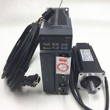 400W Delta Servo Motor Drive Kit ECMA-C20604RS+ASD-B2-0421-B 1.27NM and 3M Cable